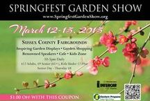 Springfest 2015 / The Annual Springfest Flower & Garden Show at the Sussex County Fairgrounds Conservatory in Augusta, NJ March 12-15th, 2015