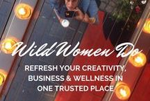 Wild Women Do Inspiration / Wild Women Do quotes, memes, affirmations and manifestos for you to fire up your inner strength, ignite your creative spark, & realign your business with your heart. www.wildwomendo.co.uk/toolkit