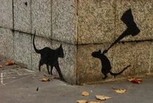 Street art / Art illusions