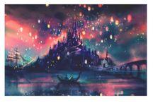 Disney / Aqui estão registradas as minhas princesas Disney favoritas em versões diferentes