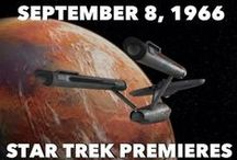 """50th Anniversary of Star Trek / We are celebrating a television show that brought generations of people together as fans. Many fans formed STARFLEET, the International Star Trek Fan Association, Inc. and continued the journey that William Shatner referred to as Captain Kirk. """"Space: the final frontier. These are the voyages of the starship Enterprise. Its five-year mission: to explore strange new worlds, to seek out new life and new civilizations, to boldly go where no man has gone before."""" and where no one has gone before."""