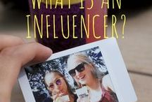 Influence Marketing / An influencer is a creator of original content on the web. The influencer is also present on social media, and he engages with his community.