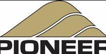 Pioneer Logo / Pioneer Sand Company, Pioneer Landscaping Material