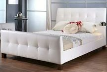 Leather Bed Frames / Beautiful leather bed frames from MyBedFrames.co.uk