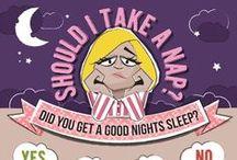 Sleep Infographics / Interesting infographics associated with sleep.