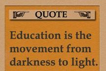 Quotations on Education and Reading / The best quotes on education, reading, knowlege and studying