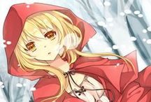 Fairy Tale charaters in to anime