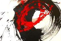 日本画 | 水墨画 / Japanese style painting | suibokuga