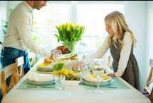 Pääsiäiskattaus / Täällä haluamme tarjota ideoita ja inspiraatiota pääsiäispöytäsi kattamiseen. Kaiken tarvittavan pääsiäiskattausta varten löydät Sokoksista ja Prismoista.