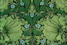 William Morris and similar designs