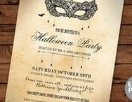 Halloween Party Invitations / Instant Downloadable Editable Party invites & Packages  https://www.etsy.com/uk/shop/wowwowmeow/items?search_query=halloween