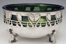 Arts and Craft and Art Nouveau pieces