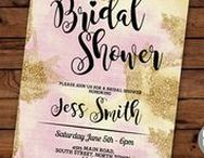 Bridal Shower Invitations / Instant Downloadable & editable invites & kits  https://www.etsy.com/uk/shop/wowwowmeow/items?section_id=16997954