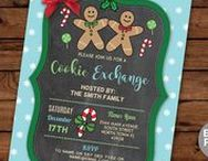 Festive Holidays Invitations / Instant Downloadable & Editable invites  https://www.etsy.com/uk/shop/wowwowmeow?ref=hdr_shop_menu&section_id=16996831