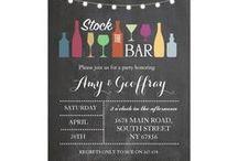 ZAZZLE: Stock The Bar Invitations