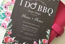 I DO BBQ Invitations / Instantly Downloadable & Editable invites  Available on my Etsy shop https://www.etsy.com/shop/wowwowmeow