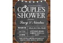 ZAZZLE Couple Shower Invitations