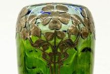 Johann Loetz glassware