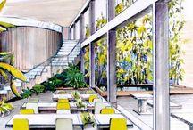 スケッチ | 屋内空間 / sketch | interior
