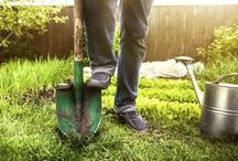 Puutarhan kevättyöt / Kevät ja puutarhahommat! Kevään tullen kotipuutarhurilla puuhaa riittää. Tässä koottuna sinulle kaikki tarvittava pihatöitä varten.