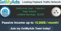 GMA - GetMyAds / Internet Advertising Profit Share Income & Referral Commissions Revenue