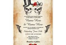 Rustic Skull Wedding collection