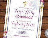 First Communion Invites