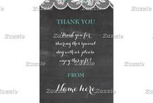 Zazzle: Lingerie Shower Collection