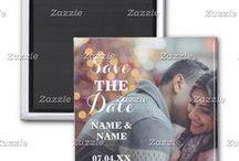 ZAZZLE: Photo Save The Date