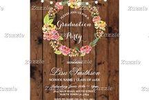 Zazzle: Graduation Invites