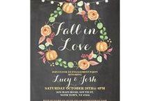 Zazzle Engagement Invitations