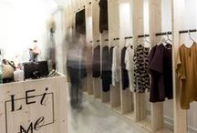 C28 - Leime Temporary Shop - Foligno / #Allestimento #modulare per un #temporary #shop a Foligno per Leime - seta italiana