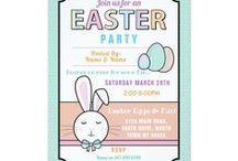 Zazzle: Easter Invites