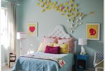 re-do the girls digs / bedroom decor ideas for my strong, beautiful girls