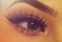 eye makeup / by Mackenzie Miller-Reeves