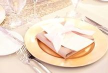 Charger Plates / by Orlando Wedding & Party Rentals