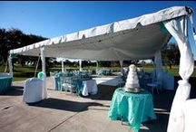 Falcon's Fire Wedding / Our tent and Chiavari chairs looked fabulous outside of Falcon's Fire for this wedding!  / by Orlando Wedding & Party Rentals