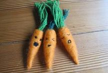 needles and felt / needle & felt projects to make or buy