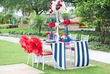 Summer Wedding Ideas / Outdoor weddings are at an all time high, and pops of color bring light to any venue. Here are some cute ideas to incorporate what the summer season is all about.  / by Orlando Wedding & Party Rentals