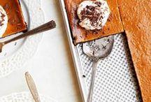 PUMPKIN / All desserts dedicated to everything pumpkin, pumpkin-flavored, and pumpkin-spiced.