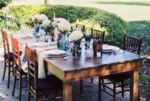 Farm Tables & Whiskey Barrels / by Orlando Wedding & Party Rentals
