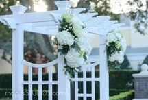 Arbors and Columns / Arbors and columns are the perfect way to frame and stage a ceremony event. Look for more column and arbor options on our website! / by Orlando Wedding & Party Rentals