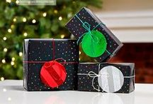 Christmas Gift Wrapping / Pretty package inspiration for the holidays
