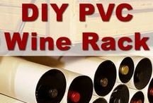 Wine Crafts and DIY / Crafts and DIY made with wine or wine bottles.