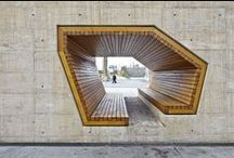 interesting spaces / by Elkie Brown