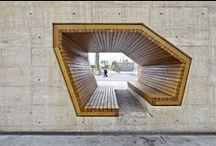 interesting spaces / by Elkie Brown