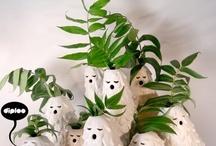 Gardening / a sutil arte de manter plantas dentro de apartamentos / by Priscila Kubo
