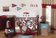 Baby Boy Nursery Bedding / Crib sets for baby boys with matching nursery decor / by Kids Room Treasures
