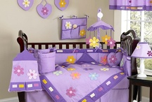 Baby Girl Nursery Bedding  / Crib sets for baby girls with matching nursery decor / by Kids Room Treasures