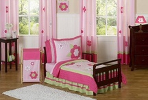Toddler Girl Bedding / Toddler girl bedding sets with matching room decor / by Kids Room Treasures